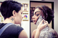 Behind the Scenes for Makeup Warrior: Judge's Competition for CMC Makeup School