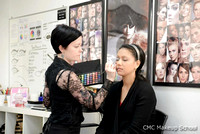 Behind the Scenes photo - Teaching makeup at CMC Makeup School