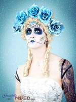 Sugar Skull - Day of the Dead Doll Makeup