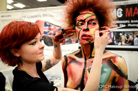 Body Paint with CMC Makeup School and Photography for The Makeup Show in Dallas, TX
