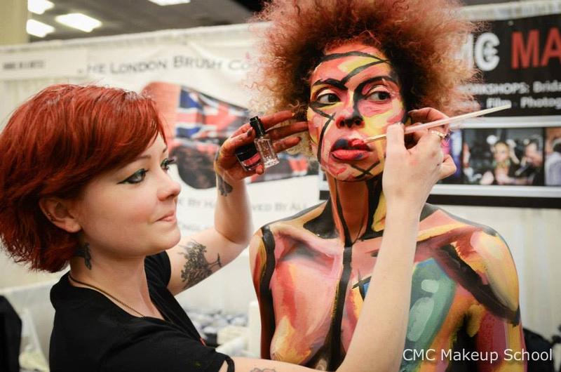 Special effects makeup school